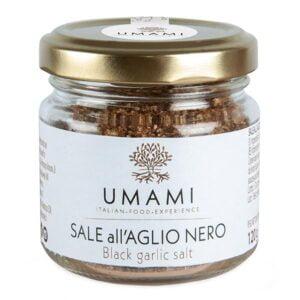 sale aromatizzato aglio nero